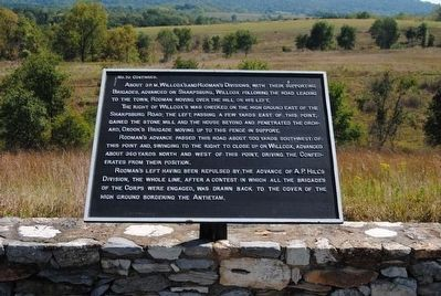Ninth Army Corps Marker #2 image. Click for full size.