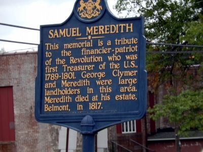 Samuel Meredith Marker image. Click for full size.
