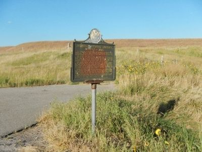 Jedediah Strong Smith�s Route - - 1823 Marker image. Click for full size.