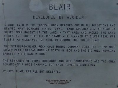 Blair Marker image. Click for full size.