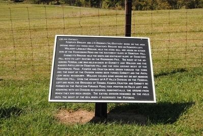 D.R. Jones' Division, Longstreet's Command Marker #2 image. Click for full size.