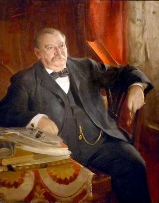 Grover Cleveland image. Click for full size.