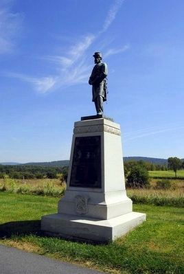 48th Pennsylvania Volunteer Infantry Monument<br>Note the Sword Has Been Restored image. Click for full size.