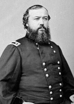 Brig. General Hugh Boyle Ewing (1825-1905) image. Click for full size.
