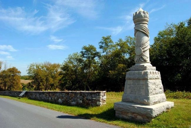 30th Ohio Volunteer Infantry Monument image. Click for full size.