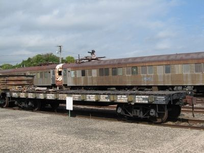 Central Vermont Railway Flatcar image. Click for full size.