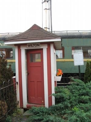 Wilton Operator's Shack image. Click for full size.