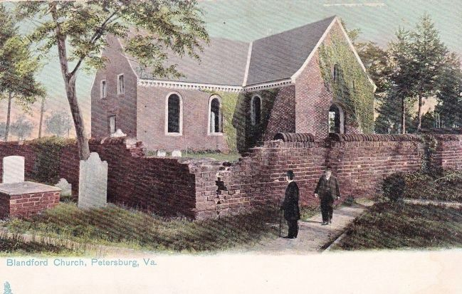 <i>Blandford Church, Petersburg, Va.</i> image. Click for full size.