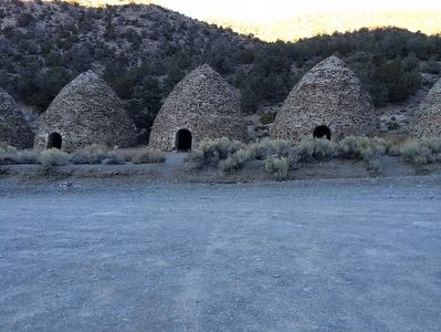 Wildrose Canyon Charcoal Kilns image. Click for full size.