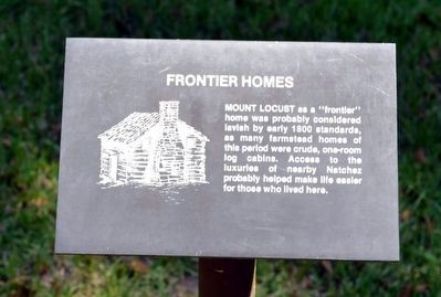 Frontier Homes Interpretive Sign image. Click for full size.
