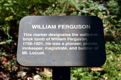 William Ferguson Interpretive Sign image. Click for full size.