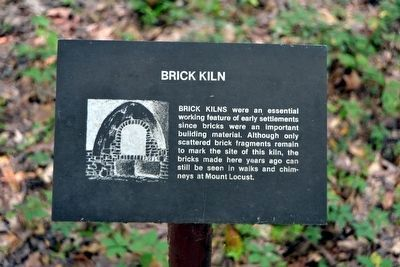 Brick Kiln Interpretive Sign image. Click for full size.