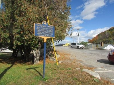 Whitehall Harbor Marker image. Click for full size.