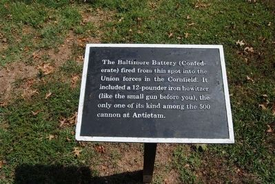 The Baltimore Battery Marker image. Click for full size.