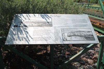 The Historic Green Bridge Marker image. Click for full size.
