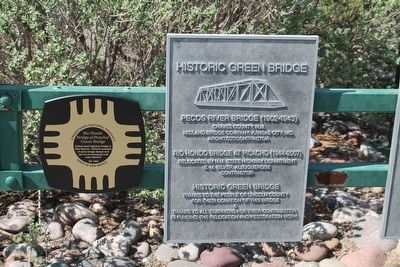 Additional Historic Green Bridge Markers image. Click for full size.