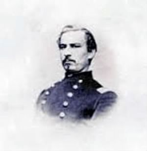 Lieut. Colonel Alois O. Bachman (1839-1862) image. Click for full size.