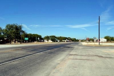 View to Northwest Along US 183 image. Click for full size.