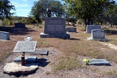 Grave of Benjamin F. Gholson image. Click for full size.