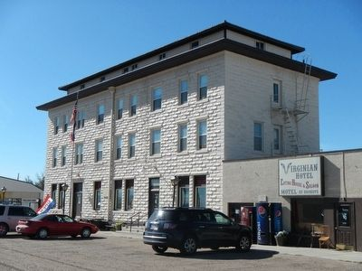 The Virginian Hotel in Medicine Bow image. Click for full size.