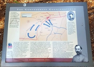 The Confederate Counterattack Marker image. Click for full size.