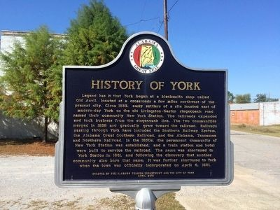 History of York Marker image. Click for full size.