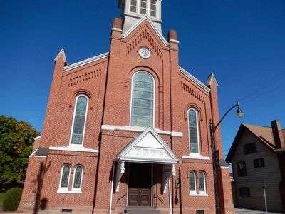 Lutheran Church-front view image. Click for full size.