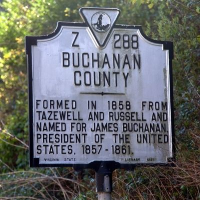 Buchanan County Face of Marker image. Click for full size.