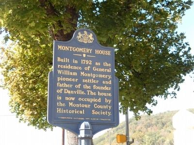 Montgomery House Marker image. Click for full size.