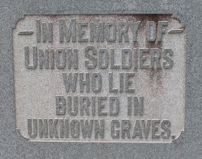 Mound Hill Cemetery Civil War Memorial Marker image. Click for full size.