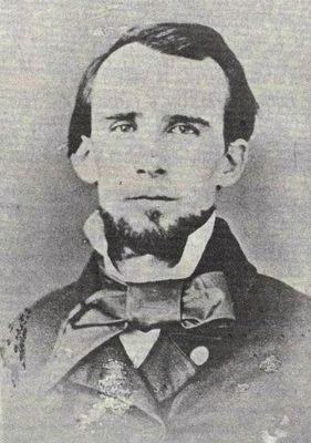 Lt. Colonel Benjamin F. Carter (1831-1863)<br>Commander, 4th Texas Infantry image. Click for full size.