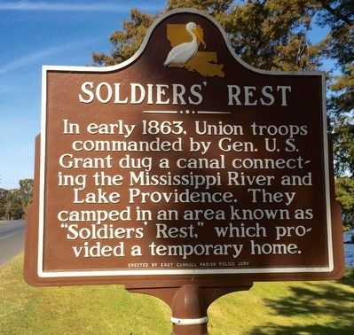 Soldiers' Rest Marker image. Click for full size.