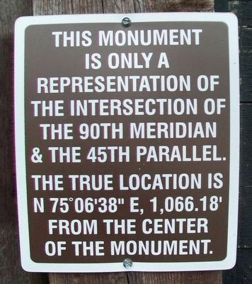 Geological Marker Marker Photo, Click for full size