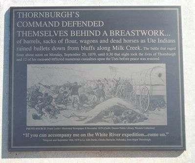 Thornburgh's Command Marker image. Click for full size.