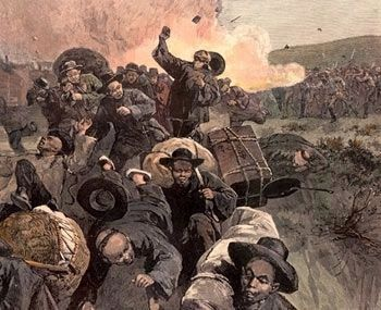 The Rock Springs Massacre image. Click for full size.