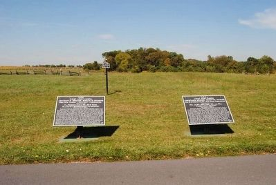 First Army Corps Marker (Left) image. Click for full size.