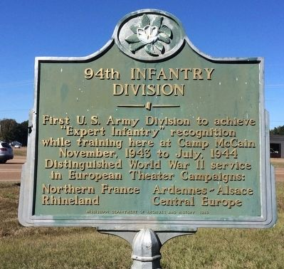 94th Infantry Division Marker image. Click for full size.