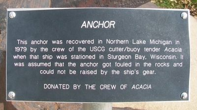 Anchor Marker image. Click for full size.