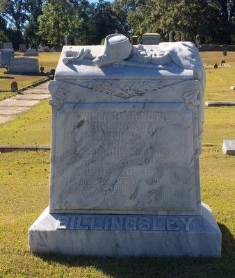 Grave site of Ensign Billingsley image. Click for full size.