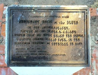 Legendary Home of the Blues Plaque image. Click for full size.