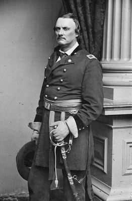 Major General Israel B. Richardson (1815-1862) image. Click for full size.