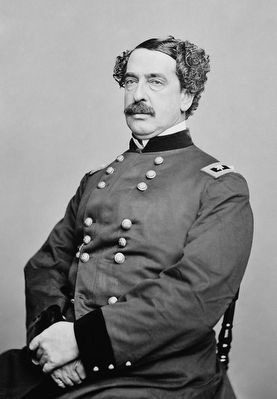 Major General Abner Doubleday (1819-1893) image. Click for full size.