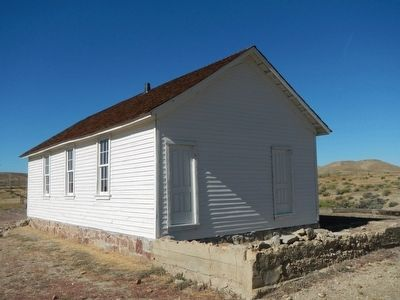 Fort Steele Schoolhouse image. Click for full size.