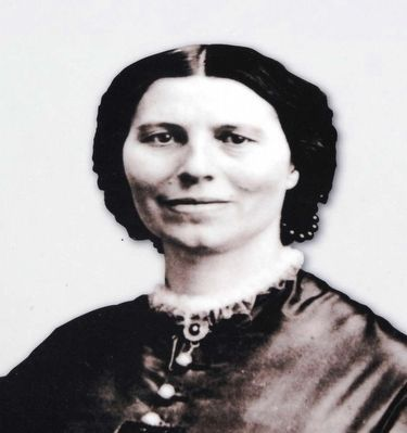 Clara Barton From the Marker image. Click for full size.