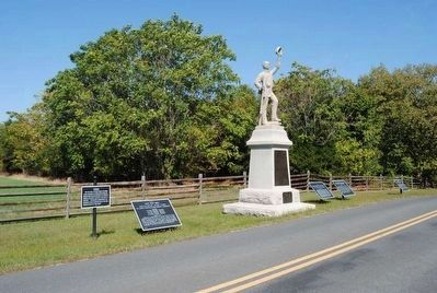 3rd Regt. Pennsylvania Monument (Center) image. Click for full size.