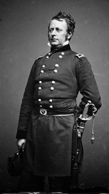 Major General Joseph Hooker (1814-1879) image. Click for full size.