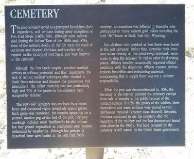 Cemetery Marker image. Click for full size.