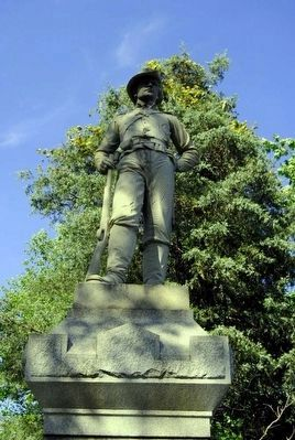 12th Pennsylvania Cavalry Monument Statue image. Click for full size.
