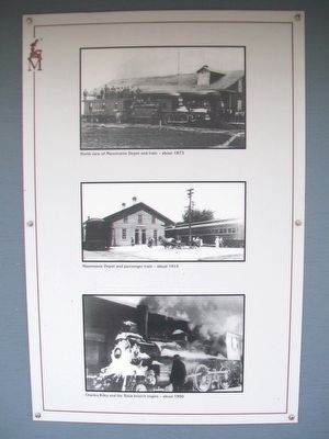 The Mazomanie Depot Photos image. Click for full size.