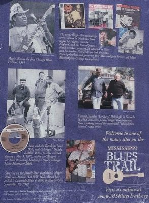 Photos on rear of marker. image. Click for full size.
